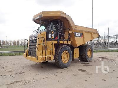 2014 CATERPILLAR 770G Rock Truck