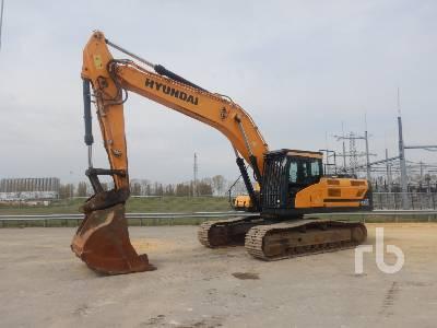 2015 HYUNDAI HX330 LC Hydraulic Excavator