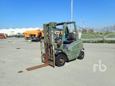 2001 JUNGHEINRICH DFG25BK Forklift (Inoperable) Forklift