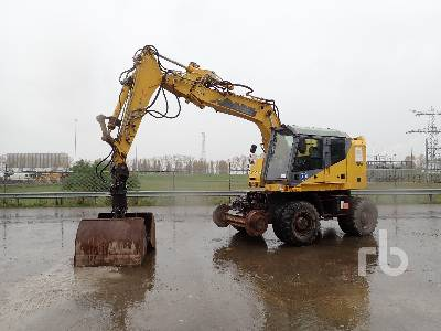 2002 CASE 788-PRR Railroad Mobile Excavator