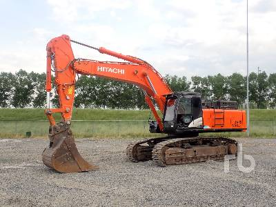 2018 HITACHI ZX530LCH-5A Hydraulic Excavator