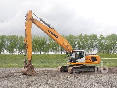 2013 LIEBHERR R946 LC Long Reach Hydraulic Excavator