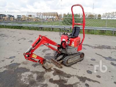 2013 YANMAR SV08-1 Mini Excavator (Inoperable) Mini Excavator (1 - 4.9 Tons)