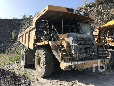 2007 CAT 775F Rock Truck