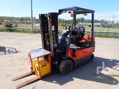 2007 TOYOTA 7FBMF20 Electric Forklift
