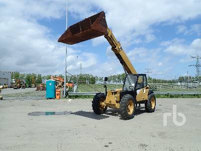 2004 CAT TH350B Telescopic Forklift