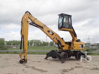 2014 CAT M322DMH Material Handler