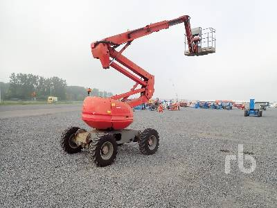 2007 MANITOU 180ATJ 4x4x4 Articulated Boom Lift