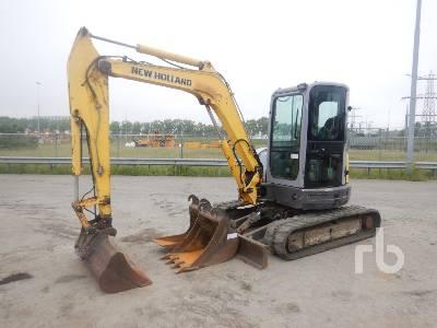 2011 NEW HOLLAND KOBELCO E50.2C Mini Excavator (1 - 4.9 Tons)