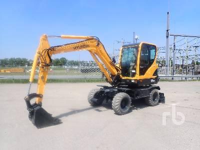 2012 HYUNDAI R55W-9 Mobile Excavator
