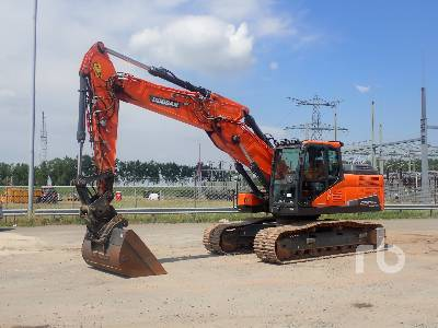 2017 DOOSAN DX235NLC-5 Hydraulic Excavator