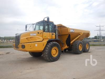 2015 BELL B35D 6x6 Articulated Dump Truck