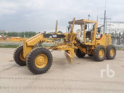 2007 CAT 140H Motor Grader