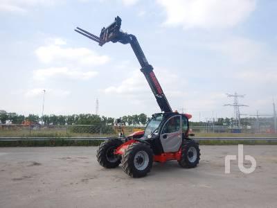 2018 MANITOU MLT733-105 4x4x4 Telescopic Forklift