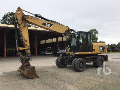 2011 CAT M318D Mobile Excavator