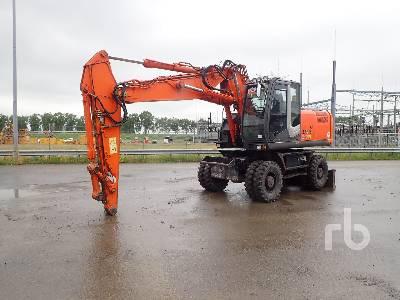 2011 HITACHI ZX210W-3 Mobile Excavator