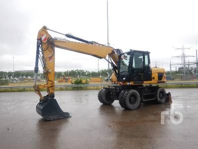2015 CAT M313D Mobile Excavator