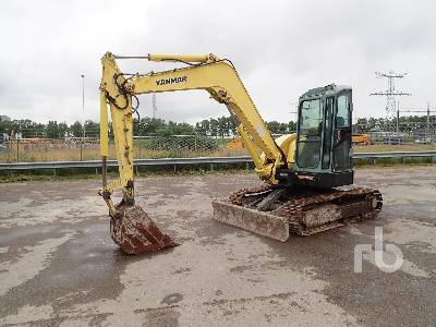 YANMAR VIO80-B Midi Excavator (5 - 9.9 Tons)
