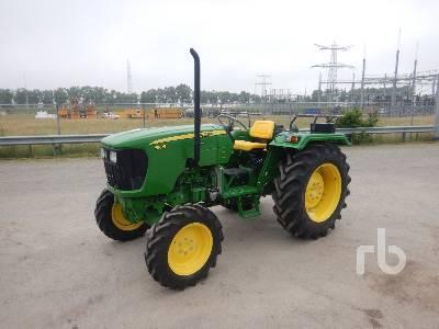 2021 JOHN DEERE 5105 MFWD Tractor