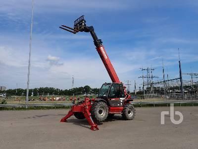 2007 MANITOU MT1740SLT 4x4x4 Telescopic Forklift