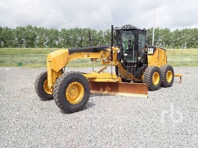 2018 CAT 160M VHP Plus Motor Grader
