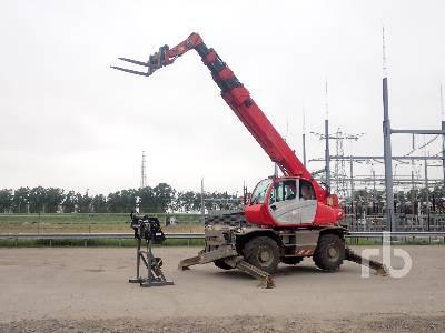 2010 MANITOU MRT2150 4x4x4 Telescopic Forklift