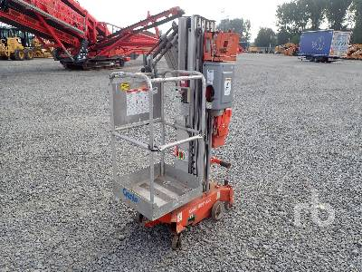 2009 GENIE AWP25S Electric Vertical Manlift Material Lift
