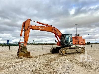 2009 HITACHI ZX520LCH-3 Hydraulic Excavator