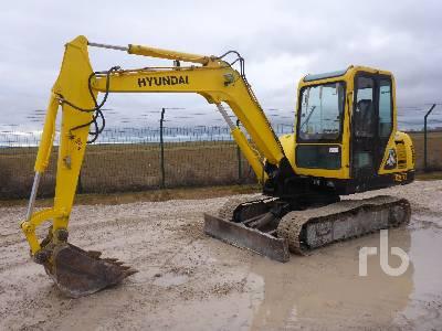 2011 HYUNDAI R55-7 Midi Excavator (5 - 9.9 Tons)