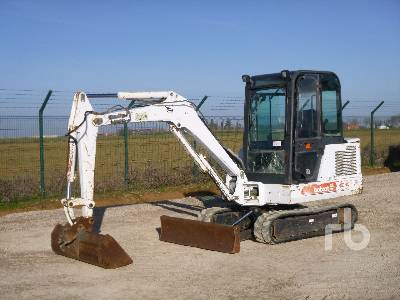 BOBCAT 331 Mini Excavator (1 - 4.9 Tons)