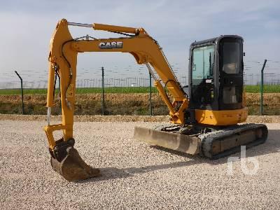 2007 CASE CX50BC Midi Excavator (5 - 9.9 Tons)