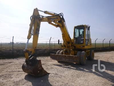 2005 KOMATSU PW95 Mobile Excavator