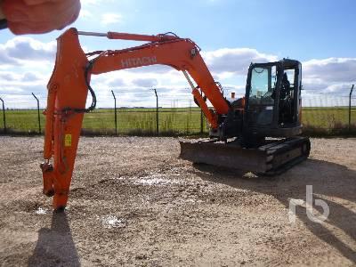 2008 HITACHI ZX85USB-3 Midi Excavator (5 - 9.9 Tons)