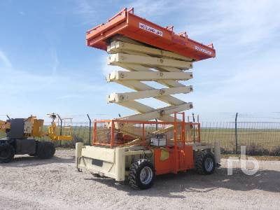 2007 HOLLAND LIFT B195DXL25 4x4 Scissorlift
