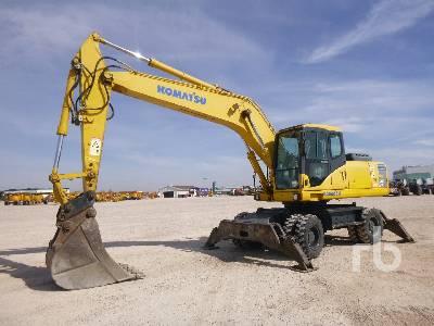 2005 KOMATSU PW200-7K Mobile Excavator