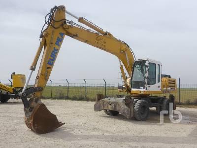 2003 LIEBHERR A914B Litronic Mobile Excavator