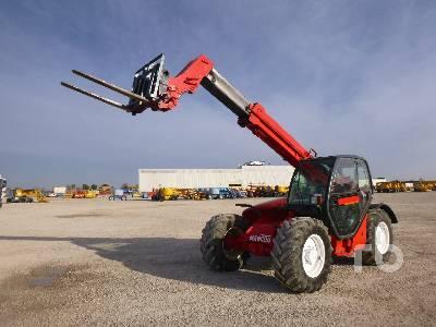 2000 MANITOU MLT730-120 4x4x4 Telescopic Forklift