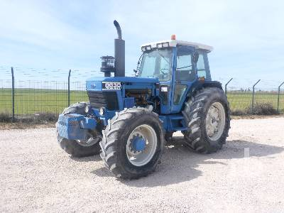 1991 FORD 8630 MFWD Tractor