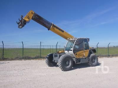 2007 LIEBHERR TL435-10 4x4x4 Telescopic Forklift