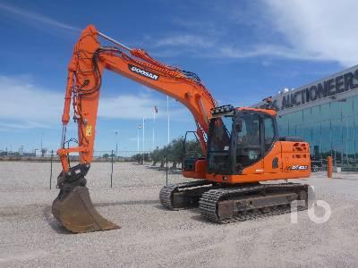 2015 DOOSAN DX140LC-3 Hydraulic Excavator