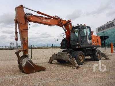 2008 HITACHI ZX170W-3 Mobile Excavator