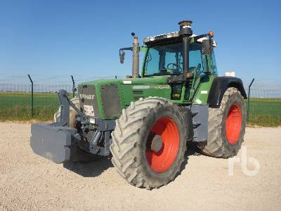 1999 FENDT FAVORIT 920 MFWD Tractor