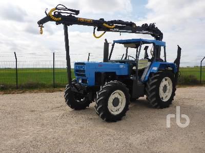 1990 EBRO 6125 MFWD Tractor