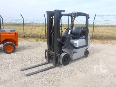 2011 NISSAN P1D1A15LQ GLP Forklift
