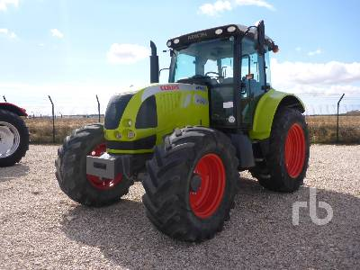 2008 CLAAS ARION 610C MFWD Tractor