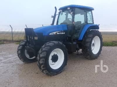 2002 NEW HOLLAND TM120 MFWD Tractor