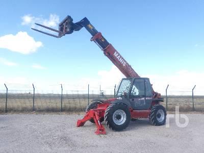 2004 MANITOU MT-1235 4x4x4 Telescopic Forklift