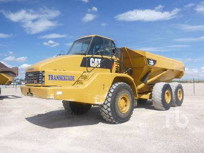 2006 CATERPILLAR 735 6x6 Articulated Dump Truck