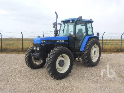 1995 FORD/NEW HOLLAND 7840DT MFWD Tractor