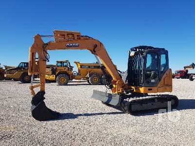 2016 CASE CX80C Midi Excavator (5 - 9.9 Tons)